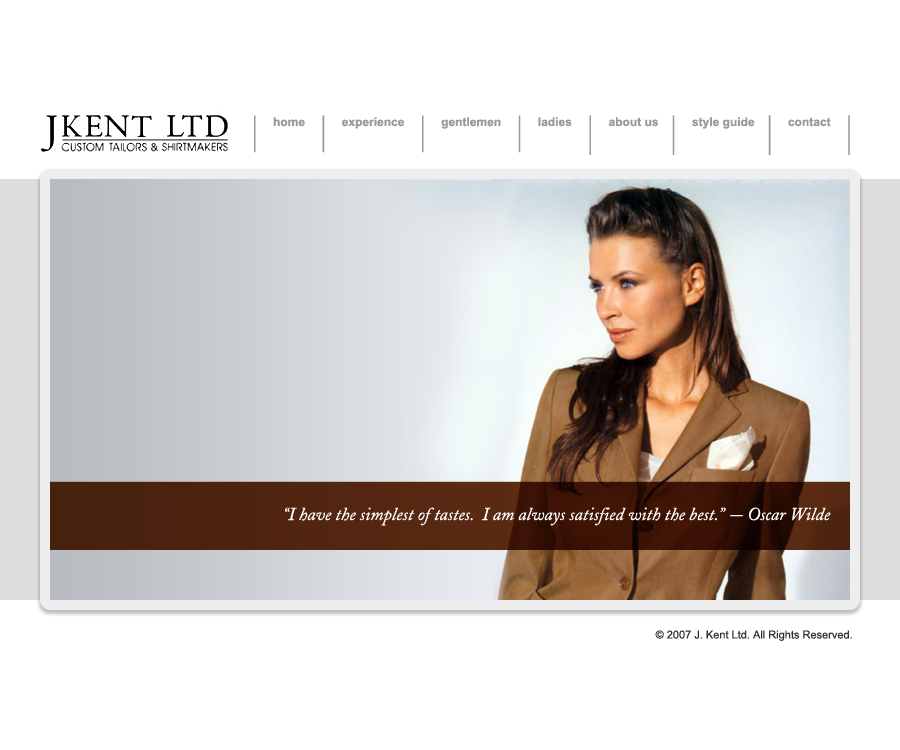 J Kent Ltd. Website